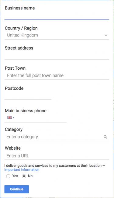 راهنمایی برای پیدا شدن در گوگل